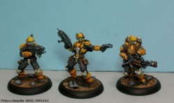 MERCS Yellow Jackets Studio Painted